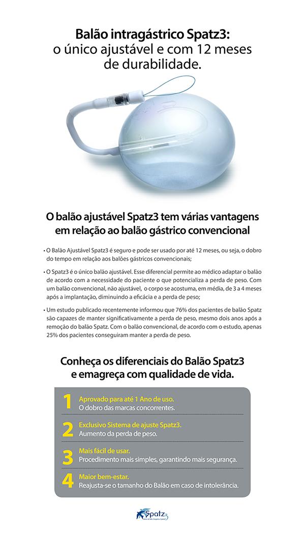 Clínica Obeso Gastro - Balão Intragástrico Spatz3